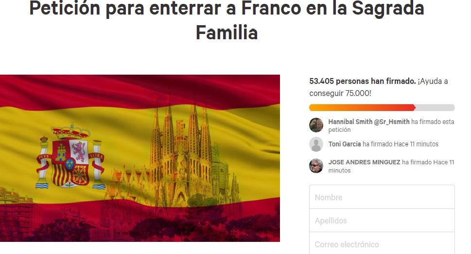 changeorg_franco_sagrada_familia