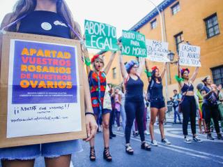 Femen, diez años de acciones de protesta con los pechos al aire