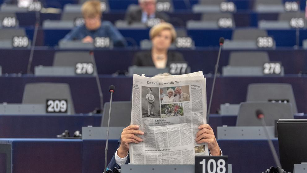 Comienzan las elecciones al Parlamento Europeo en Holanda y el Reino Unido
