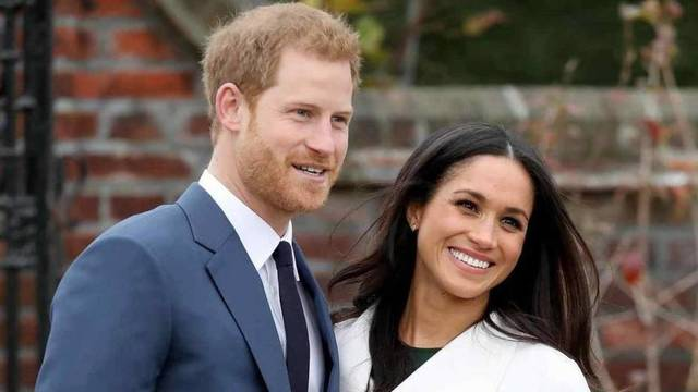 El prícipe Harry y Meghan Markle