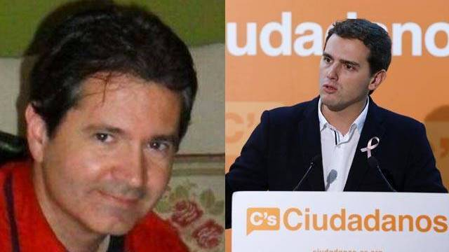 Javier Carpio y Albert Rivera