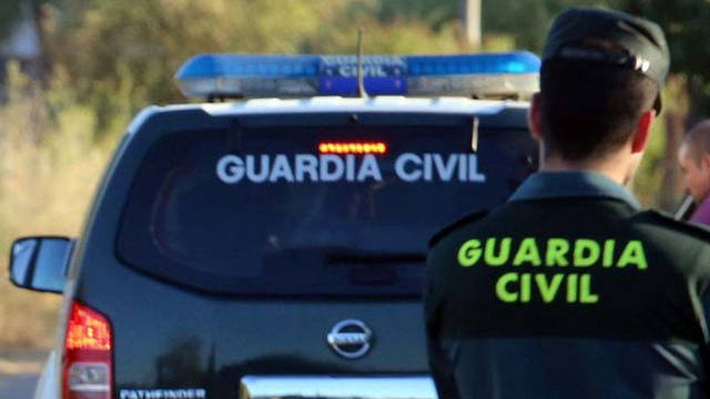 Un agente de la Guardia Civil.