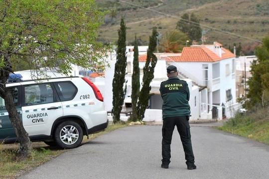 La Guardia Civil en Llanes (Asturias)
