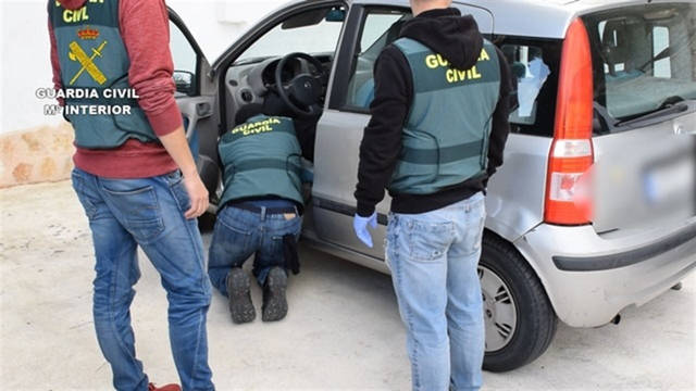 La Guardia Civil durante las diligencias de este caso / Europa Press.