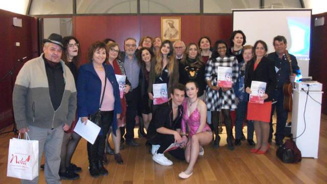 Algunos participantes de Grito de Mujer en Montilla