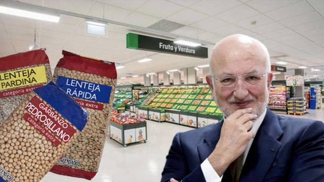 La cadena de Juan Roig apuesta por la legumbre extranjera de peor calidad pero mayores márgenes