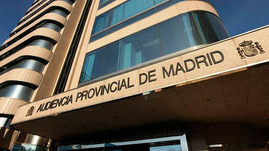 La Audiencia Provincial de Madrid.