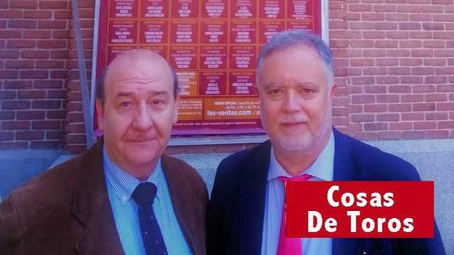 Manuel Ángel Fernández Mateo  y José Ignacio Herce.