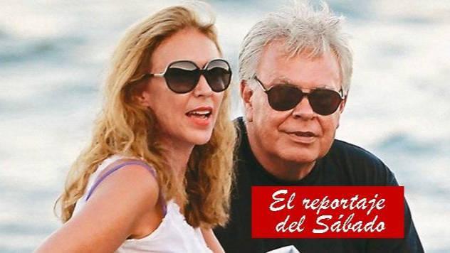 Mar García Vaquero y Felipe González.