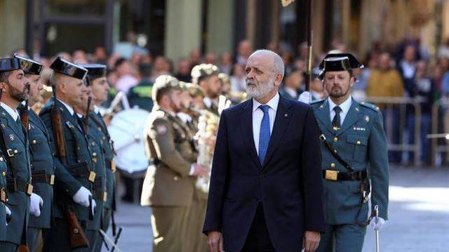Félix Azón, Director General de la Guardia Civil