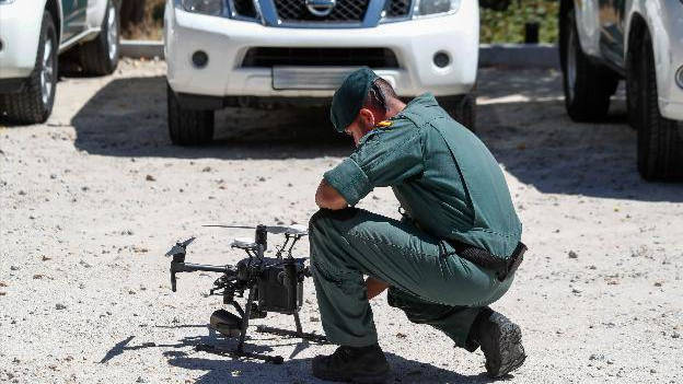 La Guardia Civil usa drones para buscarlo. /EP