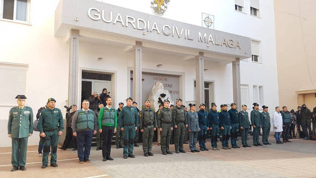 Guardia Civil de Málaga.