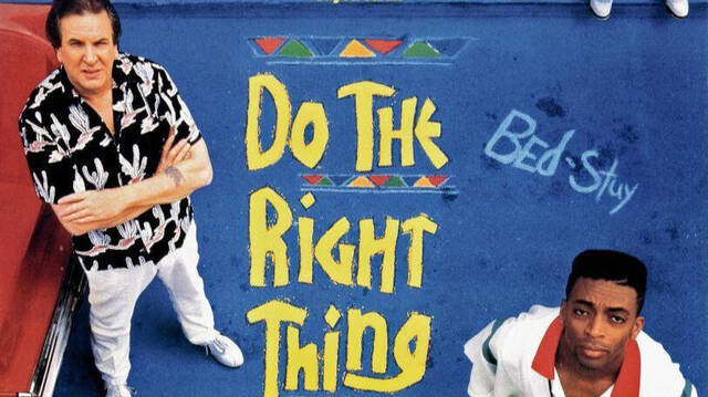 Cartel de Do The Right Thing