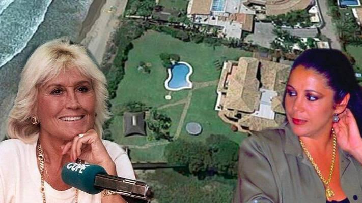 El primer escándalo de Isabel Pantoja en Marbella: Construyó una escollera desde la casa de Encarna Sánchez hasta el mar 1