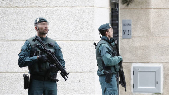 GRS de la Guardia Civil.
